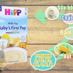 5 loại bột ăn dặm cho bé tốt nhất Nestle Friso Hipp Gerber Heizn
