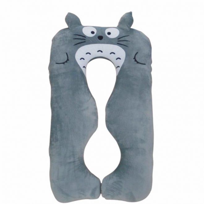 Gối bà bầu Hali Màu Xám Totoro