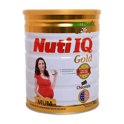 Sữa bột NUTI IQ MUM GOLD Hương Vani 900g
