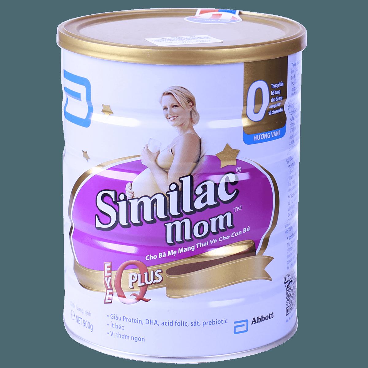 Sữa bột Similac Mom hương vani 900g