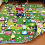 So sánh 2 loại thảm chơi cho bé tốt nhất: Xốp và Maboshi