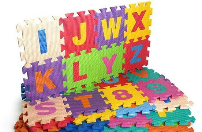 Thảm chơi xốp cho bé chữ cái và số