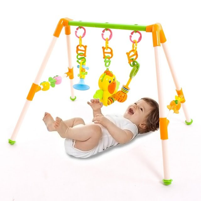 105k đồ chơi cho trẻ sơ sinh kệ chữ A có nhạc