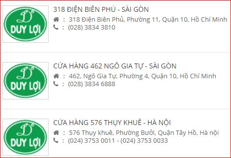 Dai ly vong xep Duy Loi