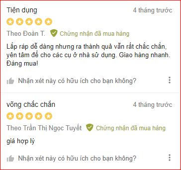 Danh gia vong xep khung inox Tien Dat