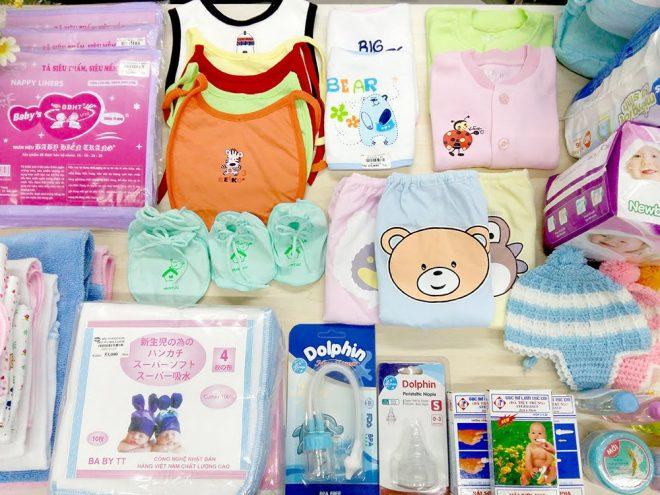 Tổng hợp tất cả đồ dùng cho mẹ và bé