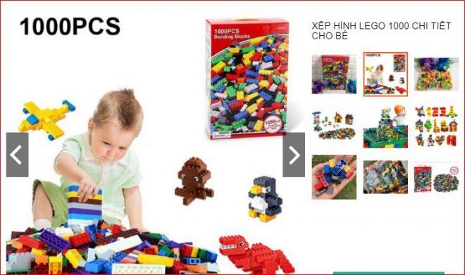 Lego Classic 1000 miếng giá 150k tha hồ cho bé chơi trên Shopee
