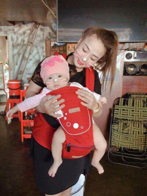 Địu em bé từ 3 tháng tuổi