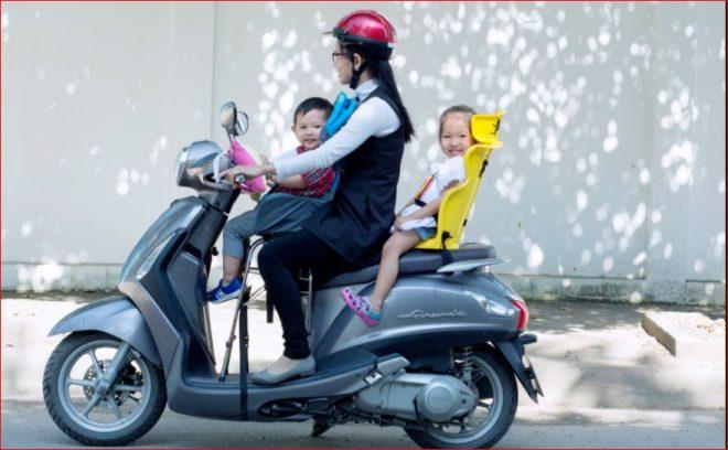 Ghế ngồi xe máy beesmart tiện lợi nhiều tư thế cho xe ga và xe số