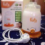 Máy hâm sữa Fatzbaby có tốt không, chọn loại nào, cách sử dụng