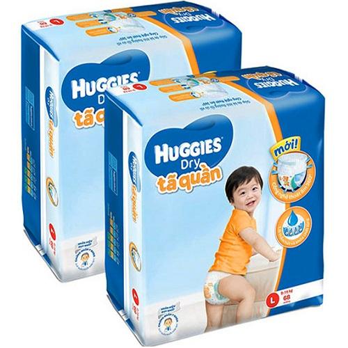 bỉm Huggies size L 1
