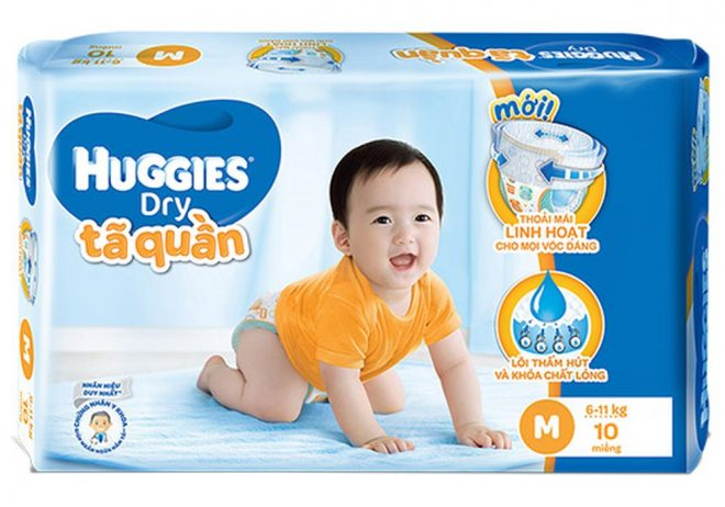 bỉm Huggies size M