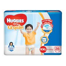 bỉm Huggies size XXL 1