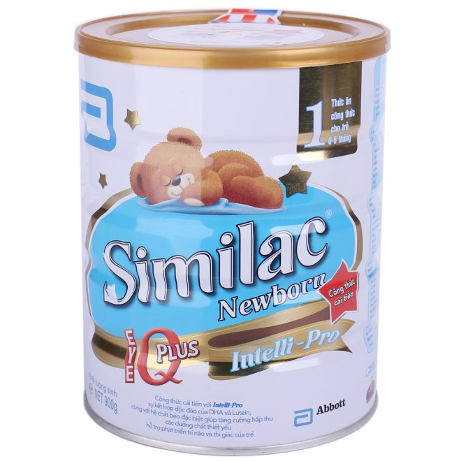 Sữa similac của thương hiệu Abbott Hoa Kỳ