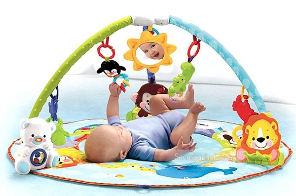 thảm nằm chơi fisher price dành cho bé
