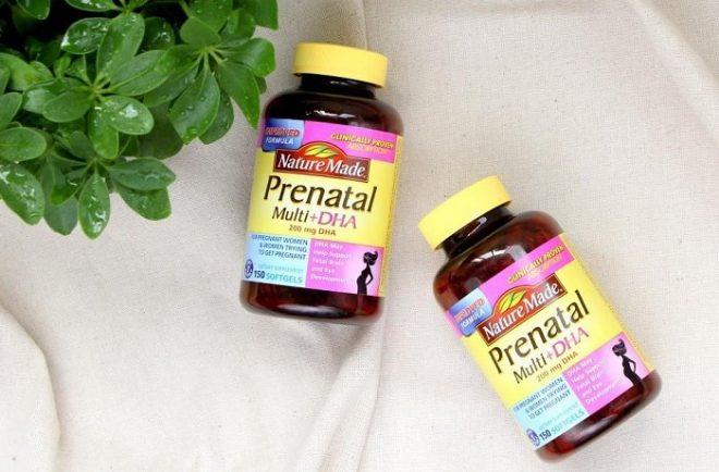 thuốc Pregnacare cho bà bầu
