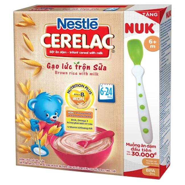 Gạo lức và sữa mang đến cho bé hương vị thơm ngon