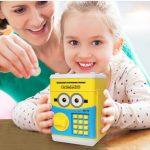 Két sắt mini đồ chơi thông minh giúp bé tiết kiệm
