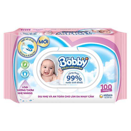 Khăn ướt bobby cho bé