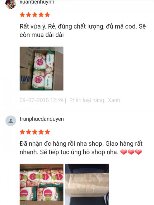 Mamamy được lòng khách hàng từ shopee