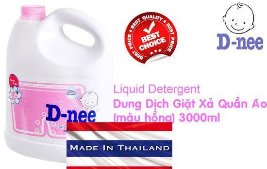 Nước giặt Dnee có nguồn gốc Thái Lan 2