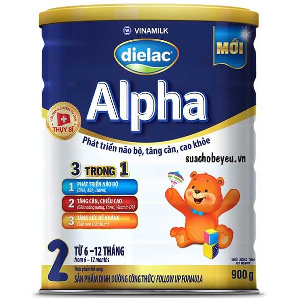 Sữa Dielac Alpha step 2