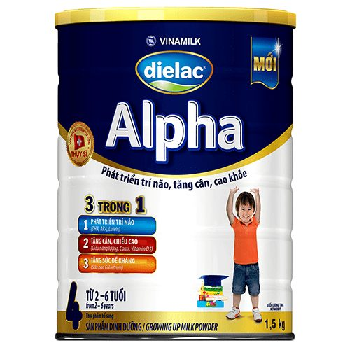 Sữa Dielac Alpha step 4