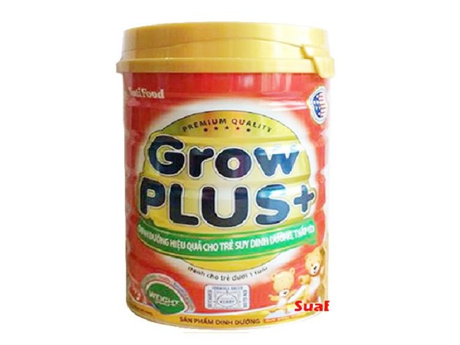 Sữa Grow Plus dành cho trẻ dưới 1 tuổi