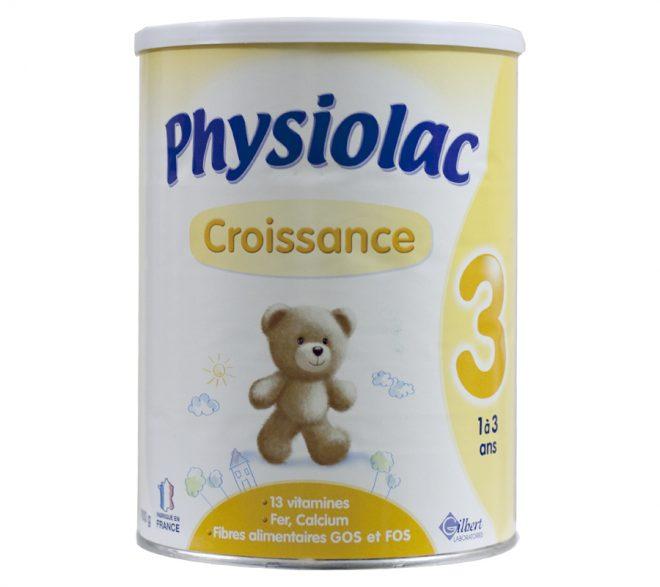 Sữa Physiolac số 3
