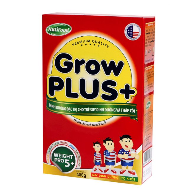 Sữa Grow Plus pha sẵn