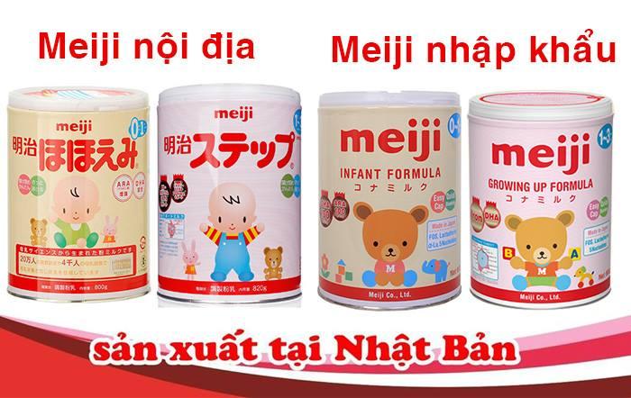Sữa Meiji có xuất xứ từ Nhật Bản