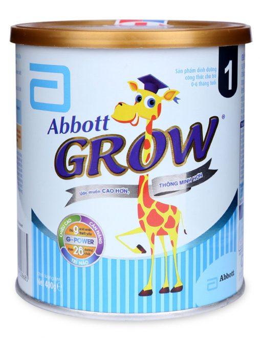 Abbott Grow 1dành cho trẻ từ 0 6 tháng tuổi 2