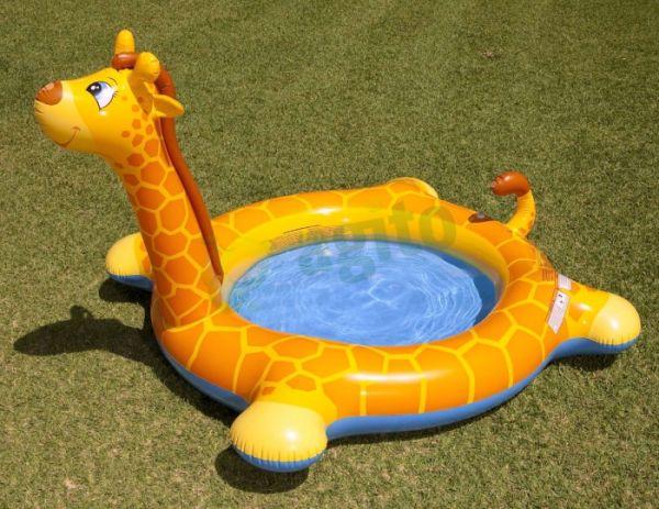Bể bơi phao hươu cao cổ