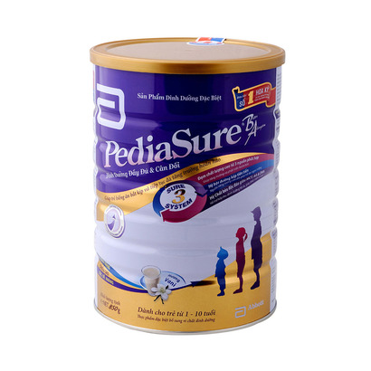 Sữa Pediasure cho trẻ biếng ăn