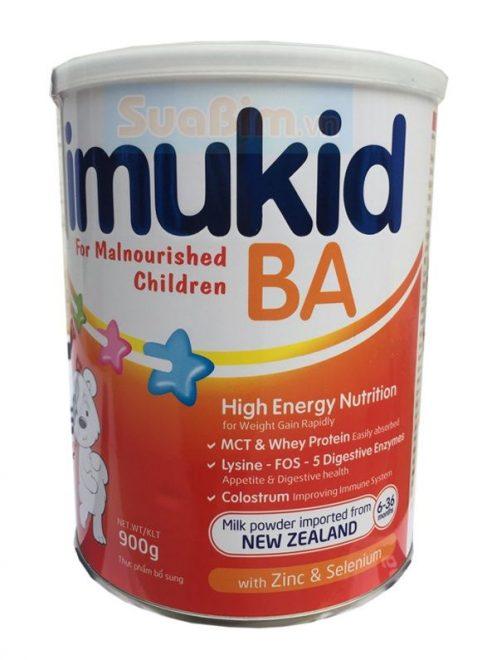 Sữa imukid BA 900g cho trẻ 6 36 tháng biếng ăn