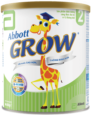 bbott Grow 2 dành cho trẻ 6 12 tháng tuổi 2