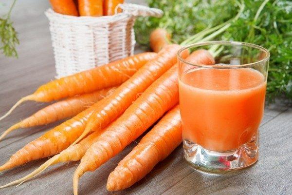 Cà rốt cho bé ăn dặm
