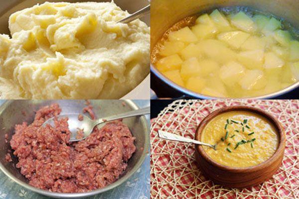 Chế biến khoai tây phù hợp cho bé