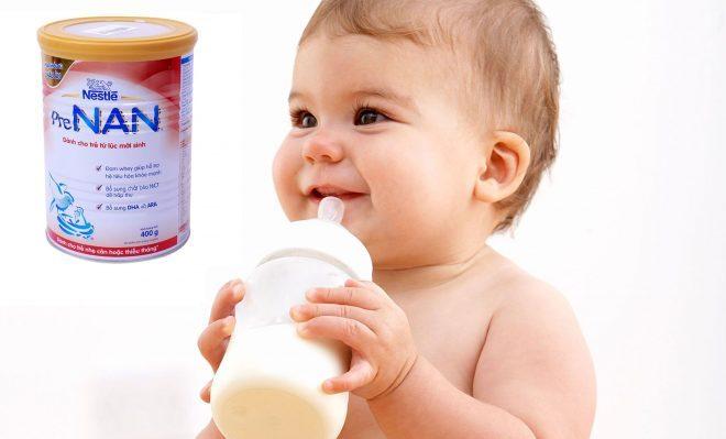Sữa Pre Nan 400g cho trẻ thiếu tháng hoặc nhẹ cân