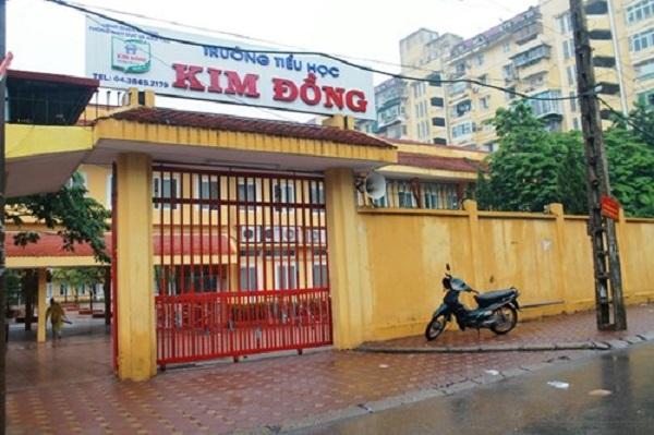 Trường tiểu học Kim Đồng.