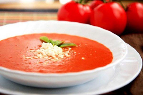 Cháo cà chua cho bé