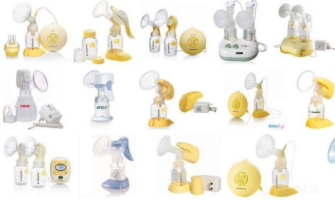 Đa dạng các loại máy hút sữa