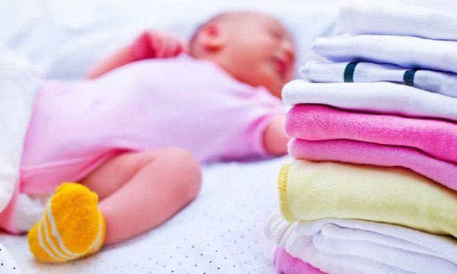 Giặt đồ đúng cách cho bé