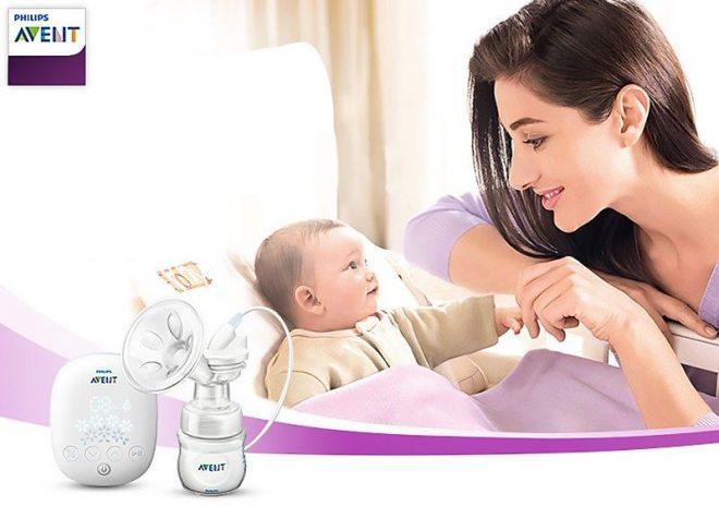 Máy Hút Sữa Philips Avent Cho Con Yêu