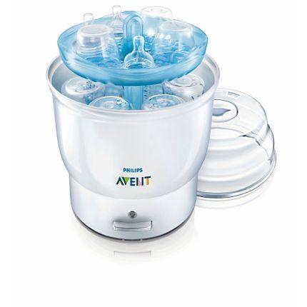 Máy tiệt trùng bình sữa Avent