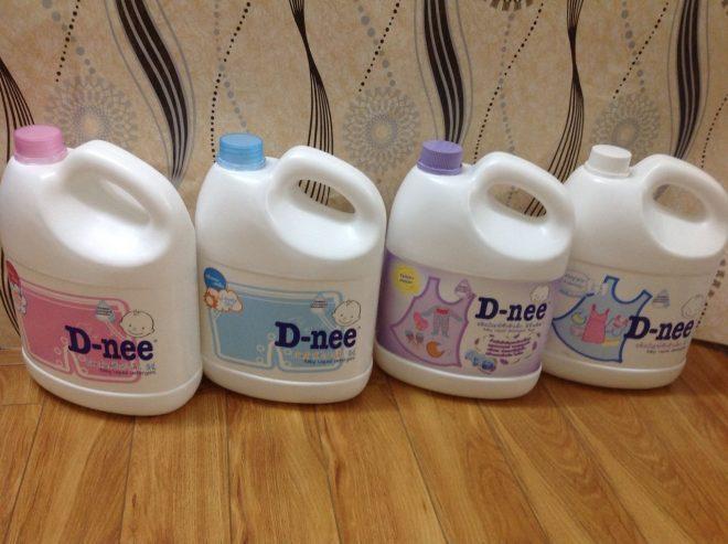 Nước giặt xả D-nee