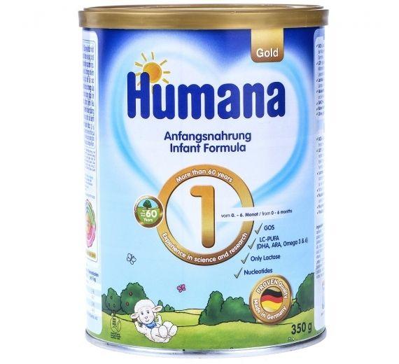 Bạn biết gì về sữa Humana Gold số 1???