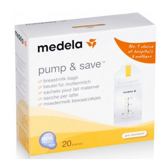 Túi trữ sữa Medela