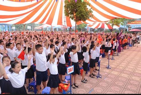 Học sinh trường Tiểu học Kim Giang