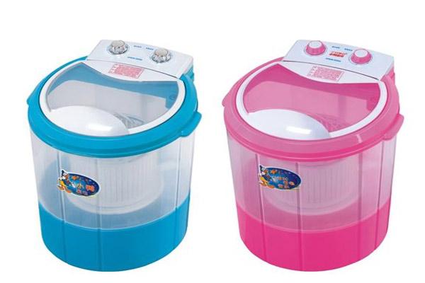 Máy giặt mini lồng giặt bên trong lồng vắt